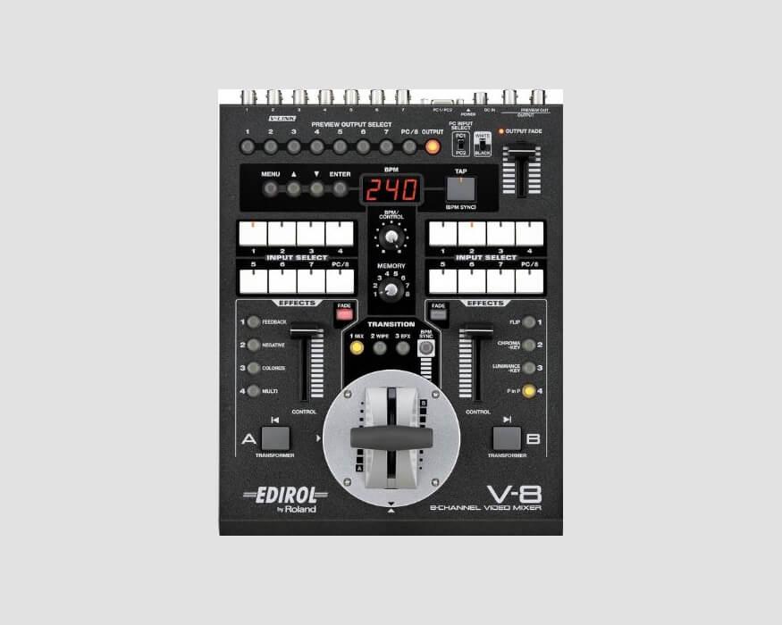 Edirol-V8-Video-Mixer